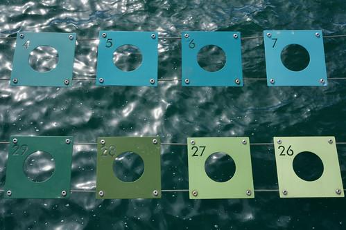 color grading the ocean