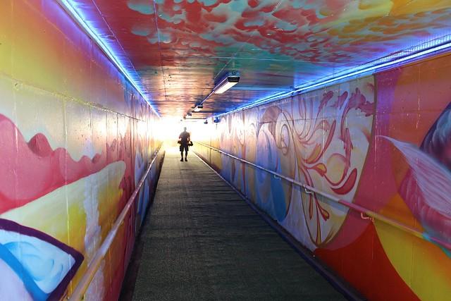Eastwood Pedestrian Underpass Reopening