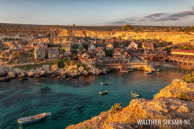 Popeye Village op Malta