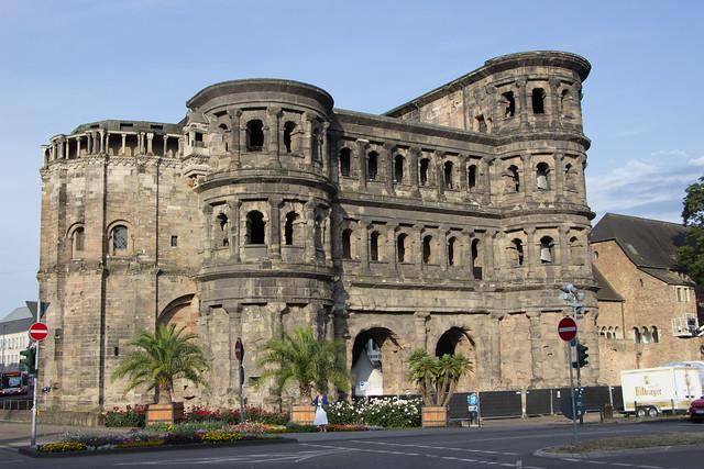 Porta Nigra, Trier, Germany.