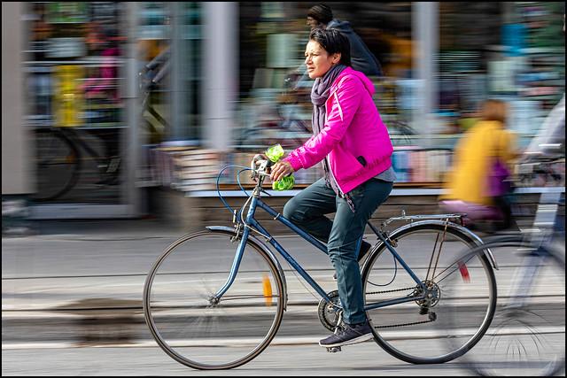 Bank Street Cyclist
