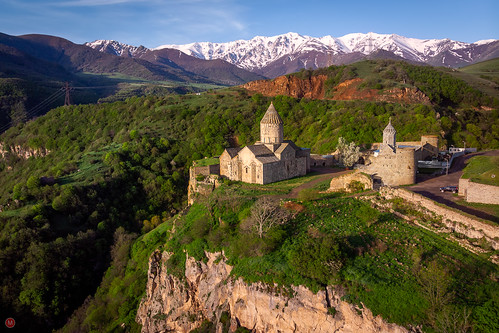tatev syunikprovince armenia ancient rock arch color peaceful panorama hill kalambaka summer majestic great christianity scenic caucasus trip greece wall background faith plateau view armenian pattern basalt landscape church old goris mountains art grass vacation culture nature religion sun medieval architecture scenery beautiful travel monastery panoramic meteora temple green building tourism national mountain
