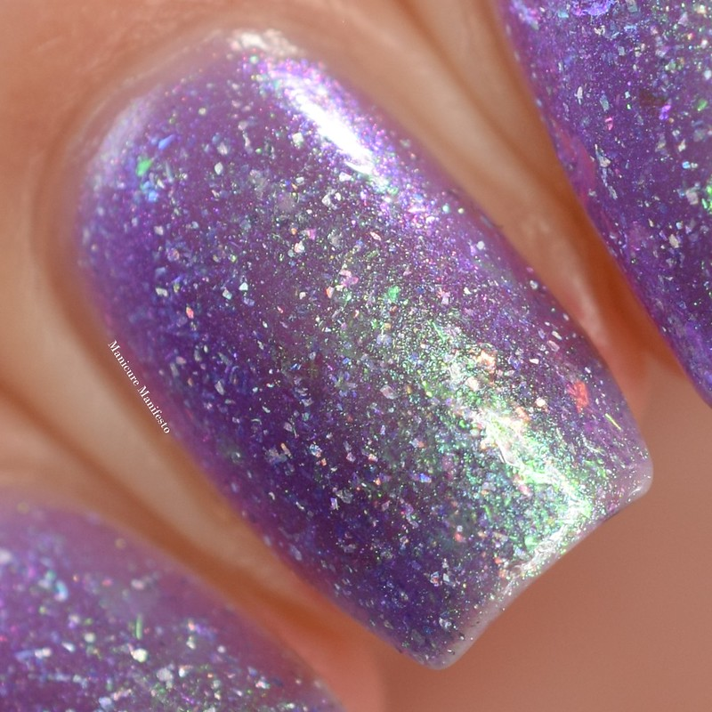 Lollipop Posse Lacquer Images Of Broken Light swatch