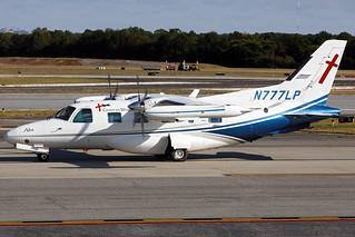 N777LP - Mitsubishi MU-2B-36A - Grace on Wings - KPDK - Oct 2019
