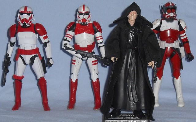 Hasbro - Black Series Imperial Shock Troopers