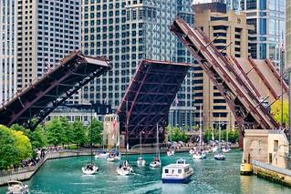 Bridge openings.
