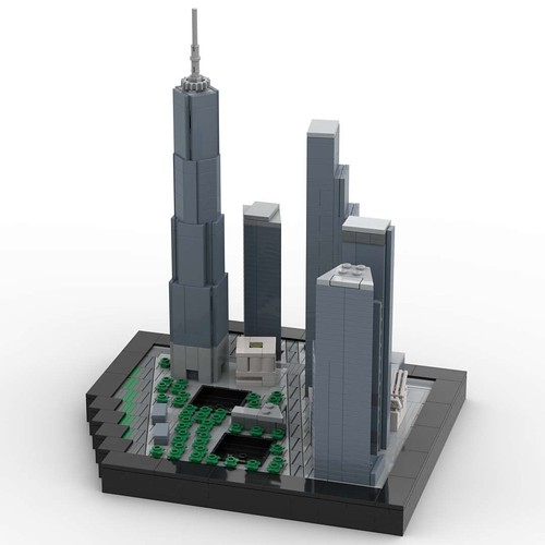 World Trade Center south view