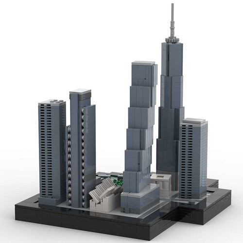 World Trade Center east view