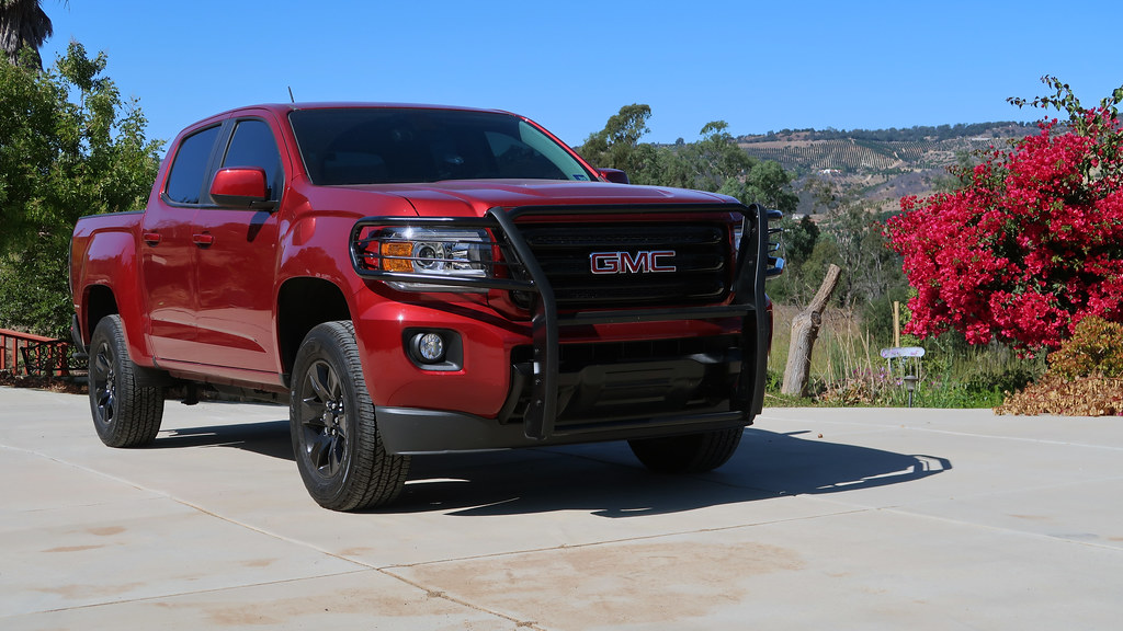 GMC Canyon in Santa Ana Mountains