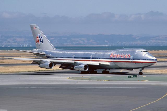 N9670 Boeing B747-123 KSFO 23-06-80