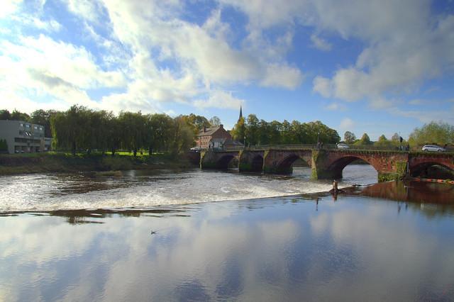 Serene river at Chester