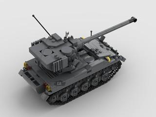 Singapore Army's retired AMX-13/75 SM1 light tank (1969-2008)