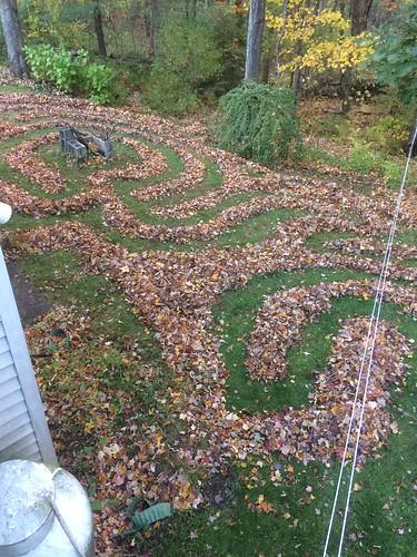 Francesca leaf maze 1