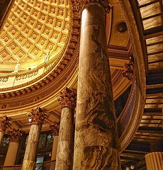 Pantheon above the Harlem