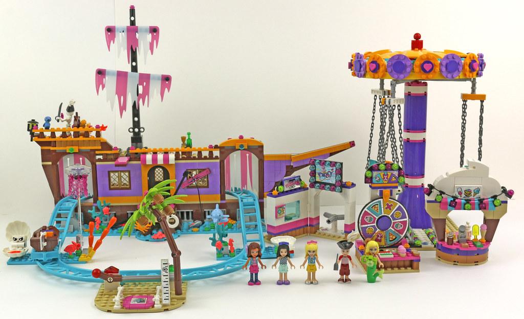 LEGO Friends 41375 Heartlake City Amusement Pier review
