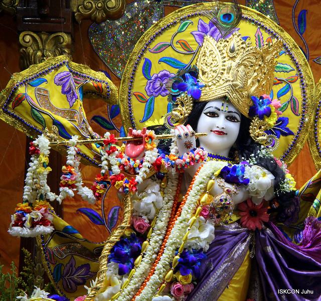 ISKCON Juhu Sringar Deity Darshan on 21st Oct 2019