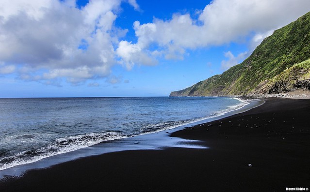 Dark sands paradise