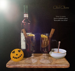 Mulled wine by ChicChica @ Cosmopolitan