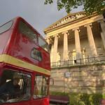 Vintage bus ride at the Harris Museum, Preston