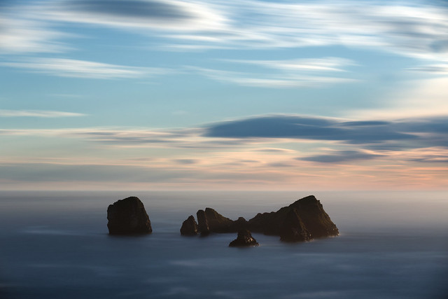 Sea Stacks - Llanes