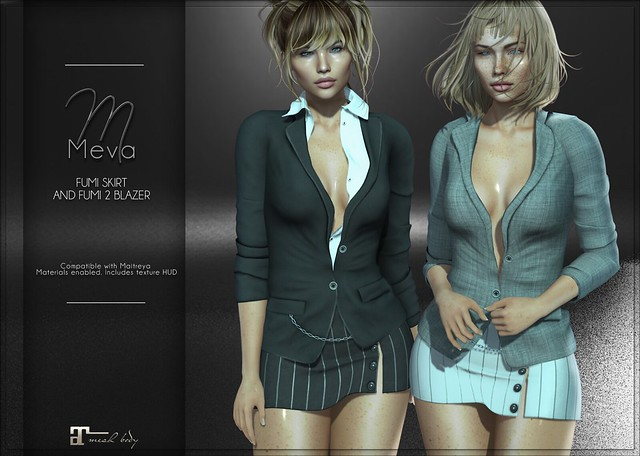 Meva Fumi 2 Blazer and Skirt