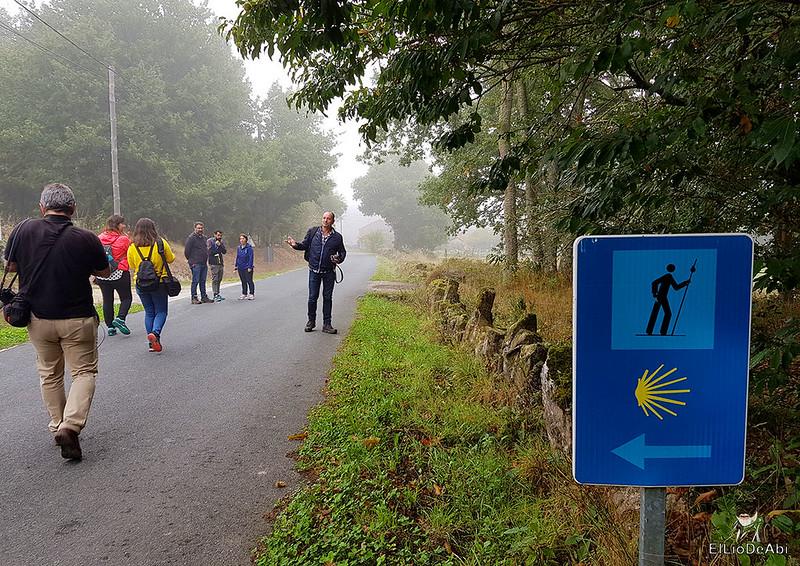 Un día en el Camino de Santiago Vía de la Plata en Allariz (4)