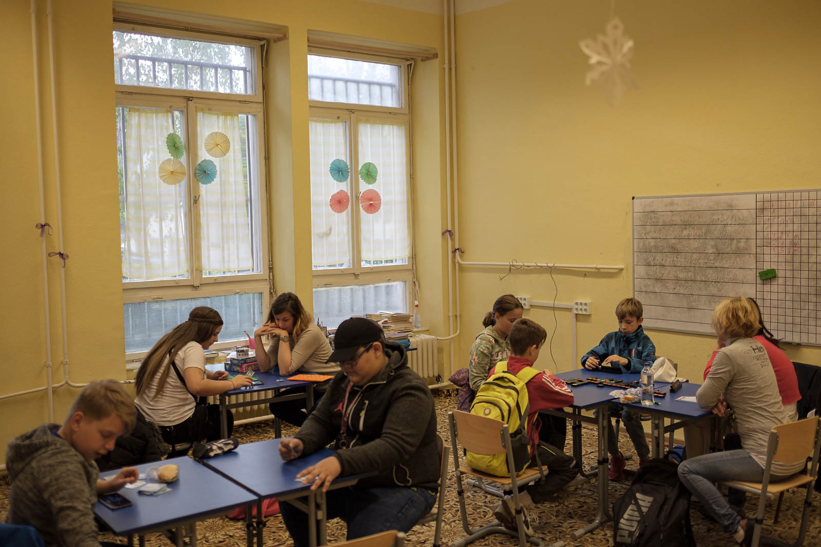 Pentelei School for kids with challenging backgrounds in Dunaujvaros in Dunaujvaros, Hungary