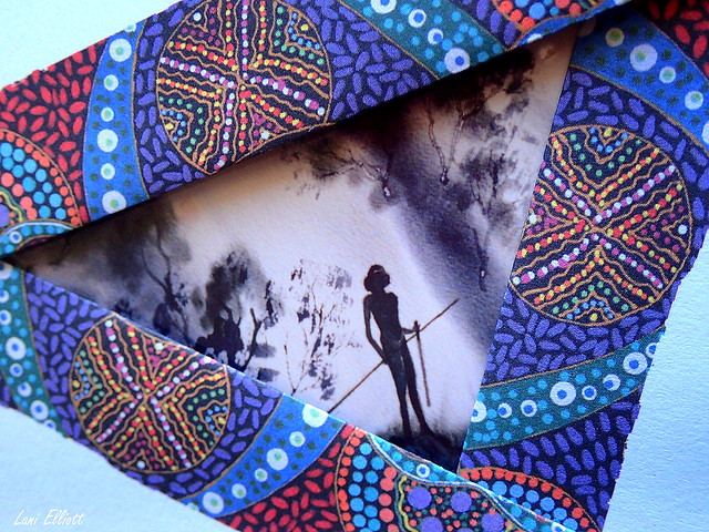 Aboriginal Artwork....STATIONERY.....Macro Mondays