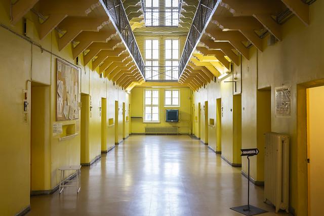Pasillo de una prisión en Finlandia