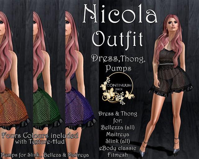 Continuum Nicola Outfit