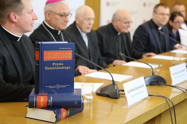 Prezentacja Leksykonu Prawa Kanonicznego - Warszawa, 21.10.2019 r.