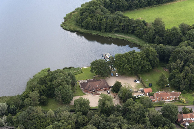 Filby Bridge Restaurant - Norfolk aerial image