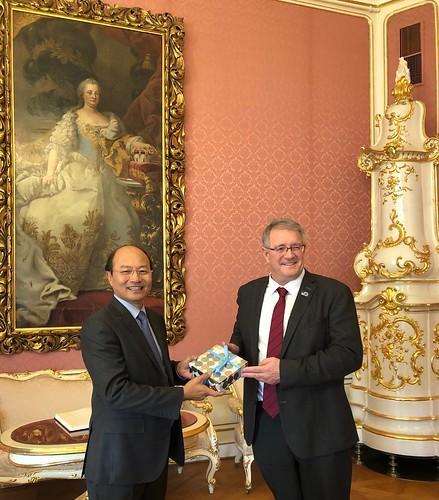 18.10 Vietnam Ambassador Visits IIASA