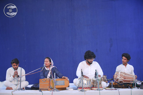 Malu Sumariya Ji presented a devotion song