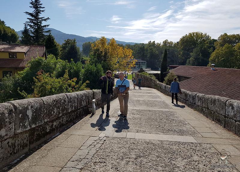 Un día en el Camino de Santiago Vía de la Plata en Allariz (26)