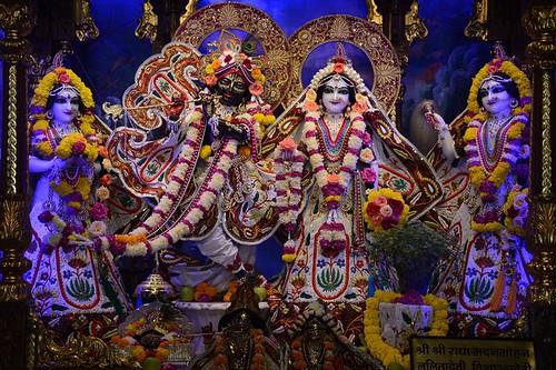 ISKCON Ujjain Deity Darshan 21 Oct 2019