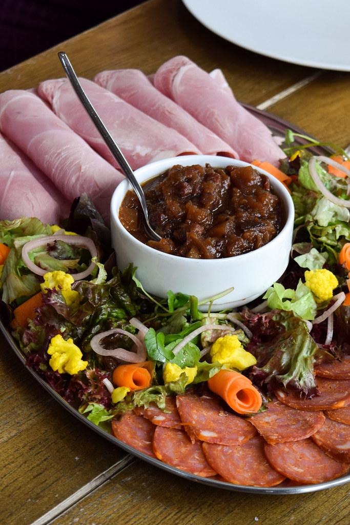 Somerset Meat Platter at Thatcher's Cider Factory
