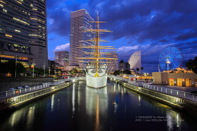 日本丸 Sail Training Ship NIPPON MARU