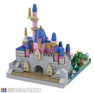 Micro Lego Sleeping Beauty Castle (3)