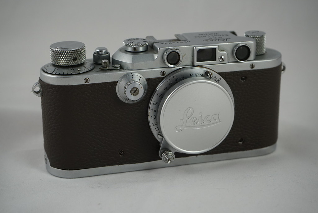 New genuine handmade leather cover for my Leica 3a