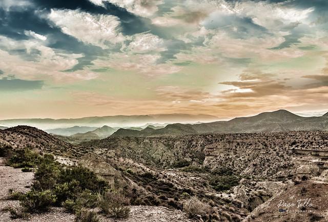 Desierto de Tabernas.