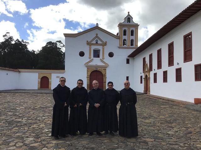 Visita del Prior general a Colombia