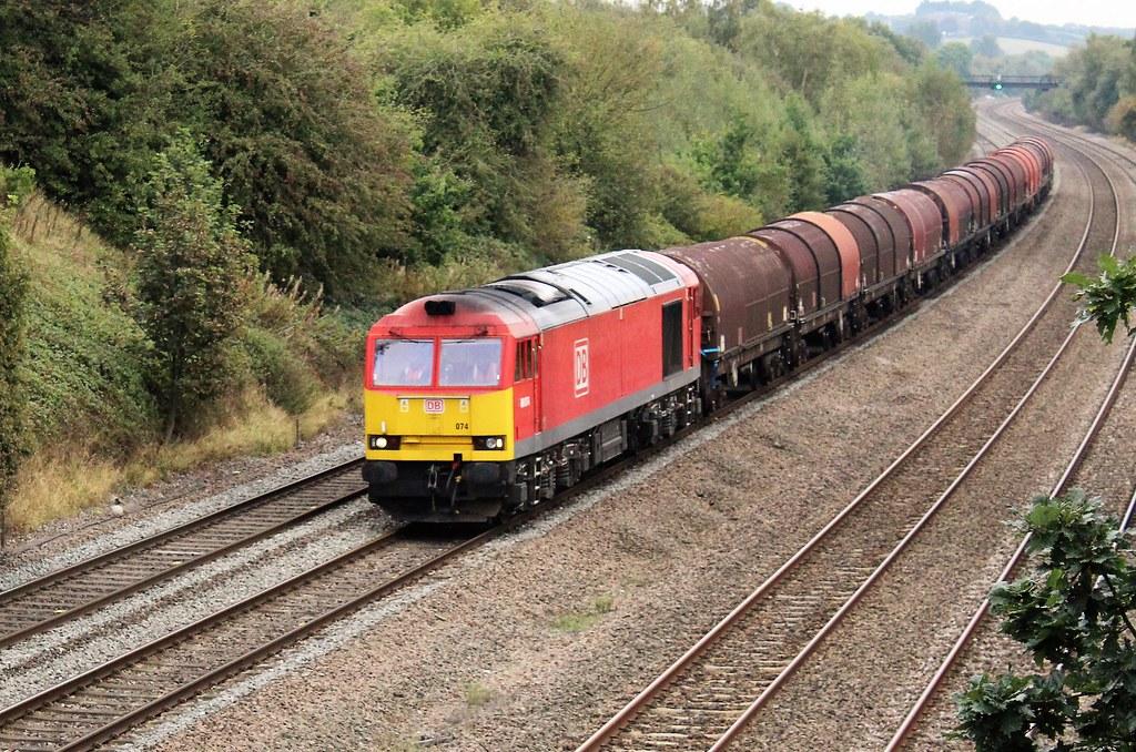 DB Cargo 60074 - Hasland, Chesterfield