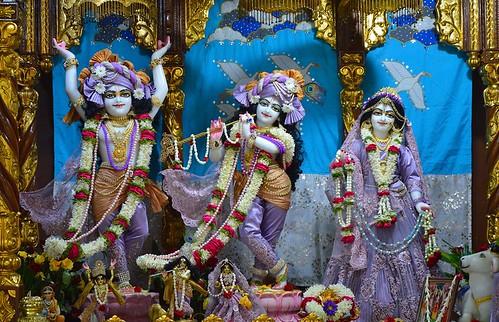 ISKCON Bangalore Deity Darshan 21 Oct 2019