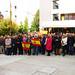 Vigo / Concentración de apoyo a la Policía Nacional