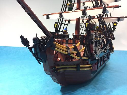 Pirate ship - Black Queen