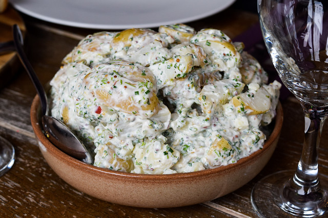 Potato Salad at Thatcher's Cider Factory