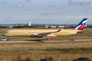 F-WZGT Airbus A350 Aeroflot