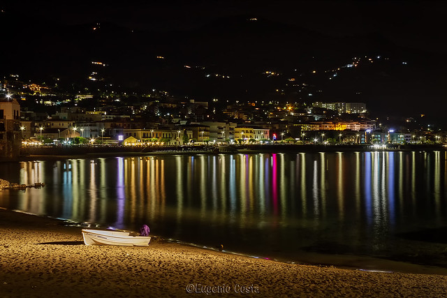 Cefalù di notte - Cefalu at night