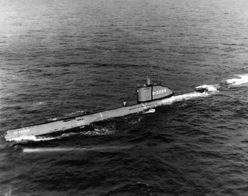 German submarine U-3008.